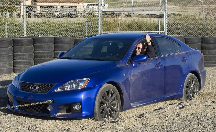 2008 Lexus IS F and 2008 BMW M3 - Slide 21