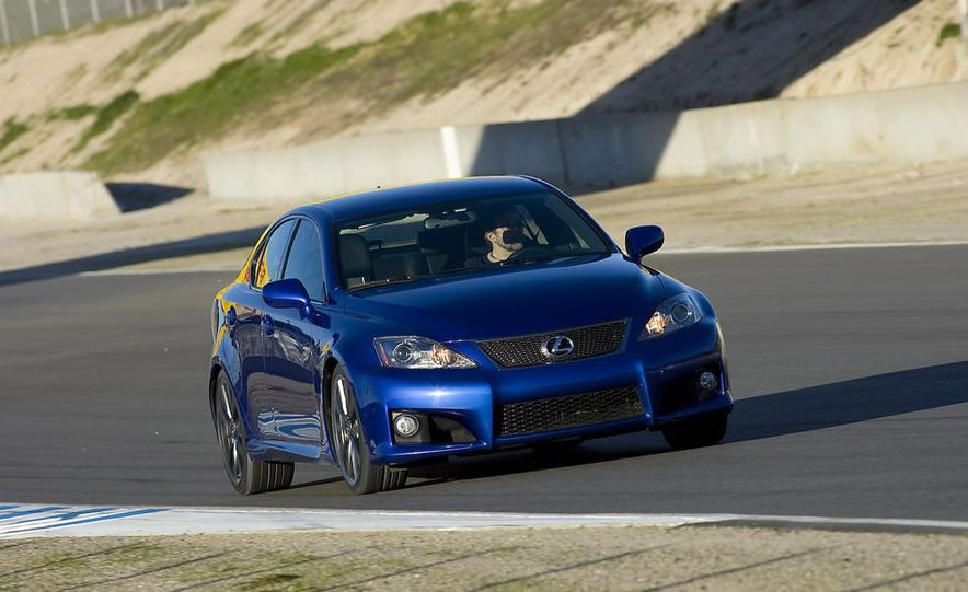2008 Lexus IS F and 2008 BMW M3 - Slide 20