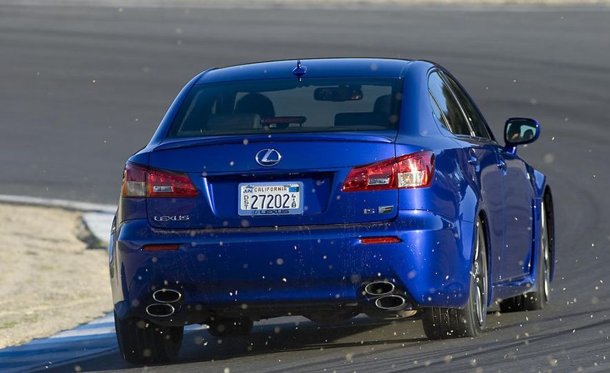 2008 Lexus IS F and 2008 BMW M3 - Slide 19