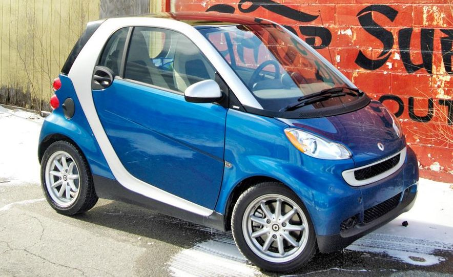 2008 Smart Fortwo Passion coupe - Slide 5
