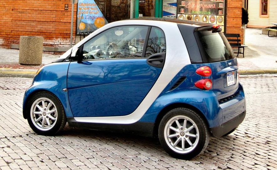 2008 Smart Fortwo Passion coupe - Slide 15