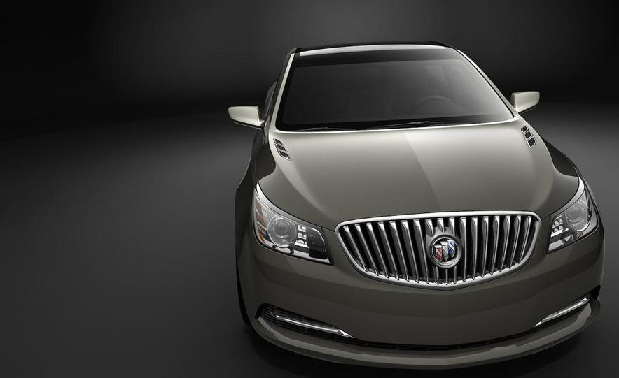 Buick Invicta concept illustration - Slide 1