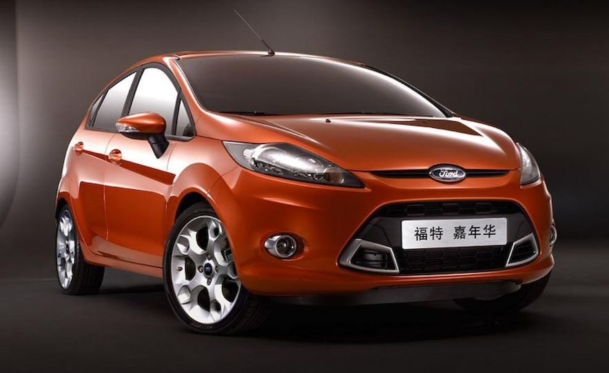 Chinese-market 2009 Ford Fiesta - Slide 1