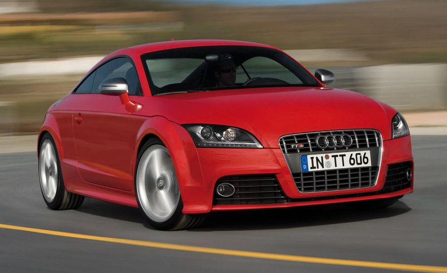 2009 Audi TTS coupe - Slide 1