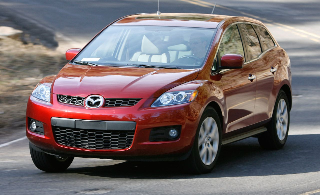 2008 mazda cx 7 grand touring awd comparison tests comparisons car and driver