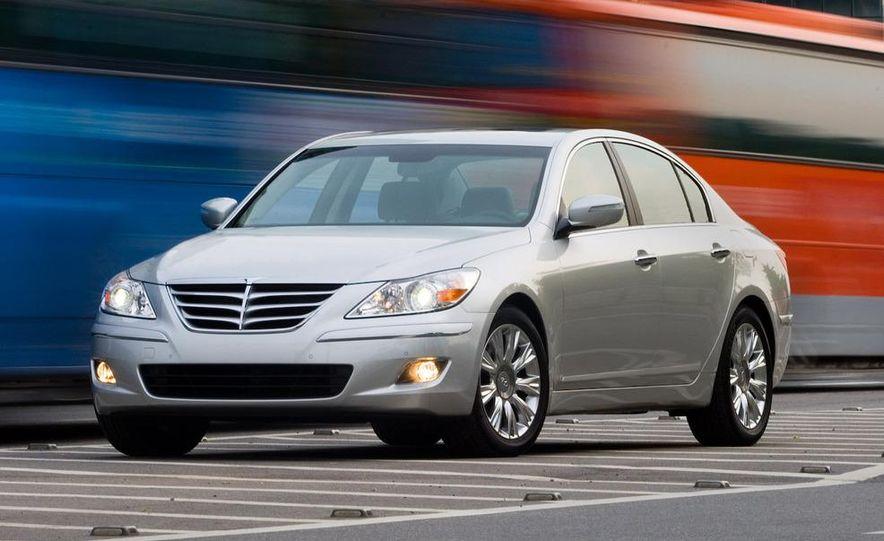 2009 Hyundai Genesis sedan - Slide 9