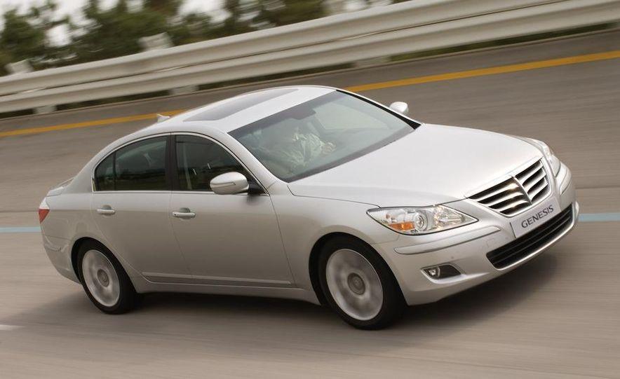 2009 Hyundai Genesis sedan - Slide 11