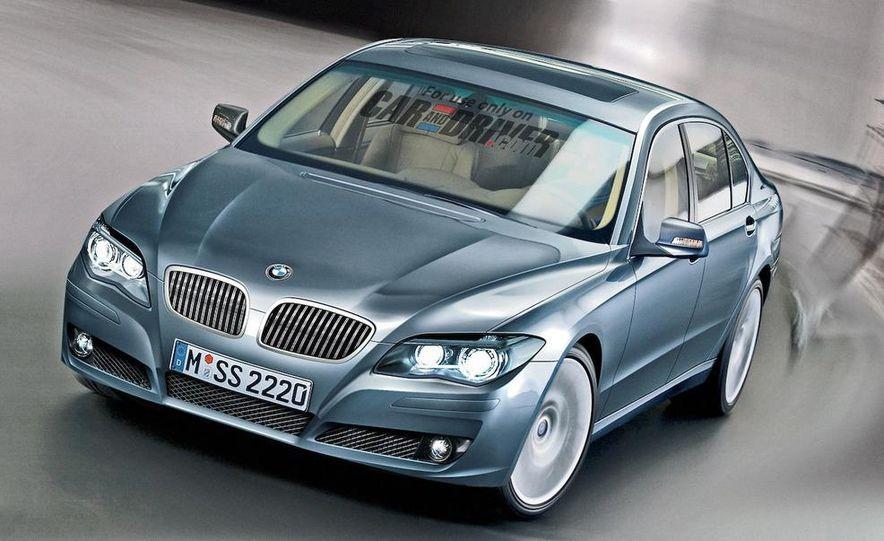 2009 BMW 7-series illustration - Slide 1
