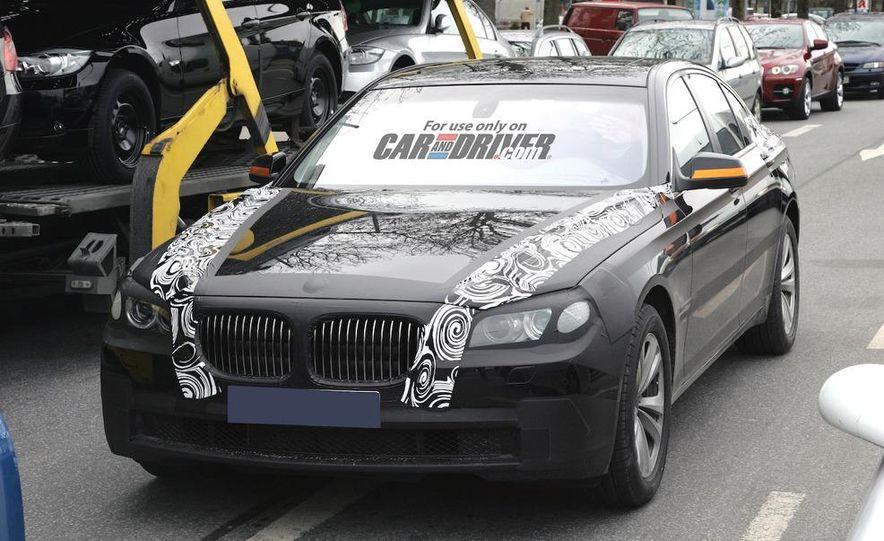 2009 BMW 7-series illustration - Slide 7