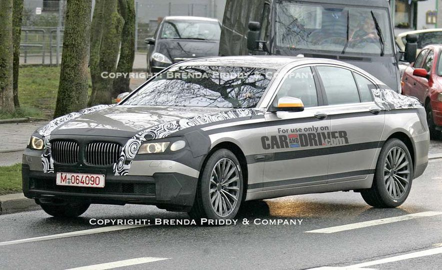 2009 BMW 7-series illustration - Slide 8