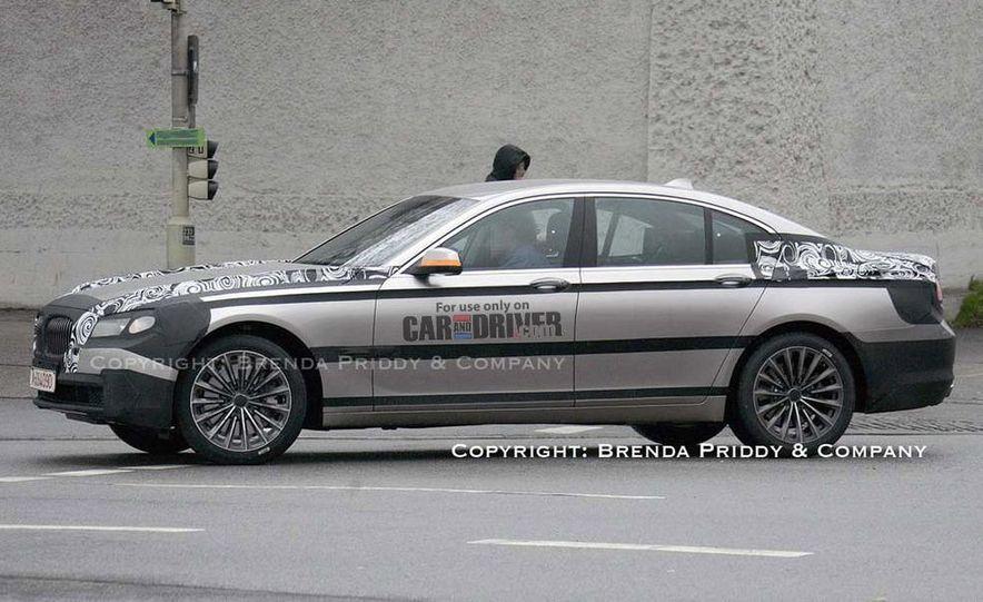 2009 BMW 7-series illustration - Slide 10