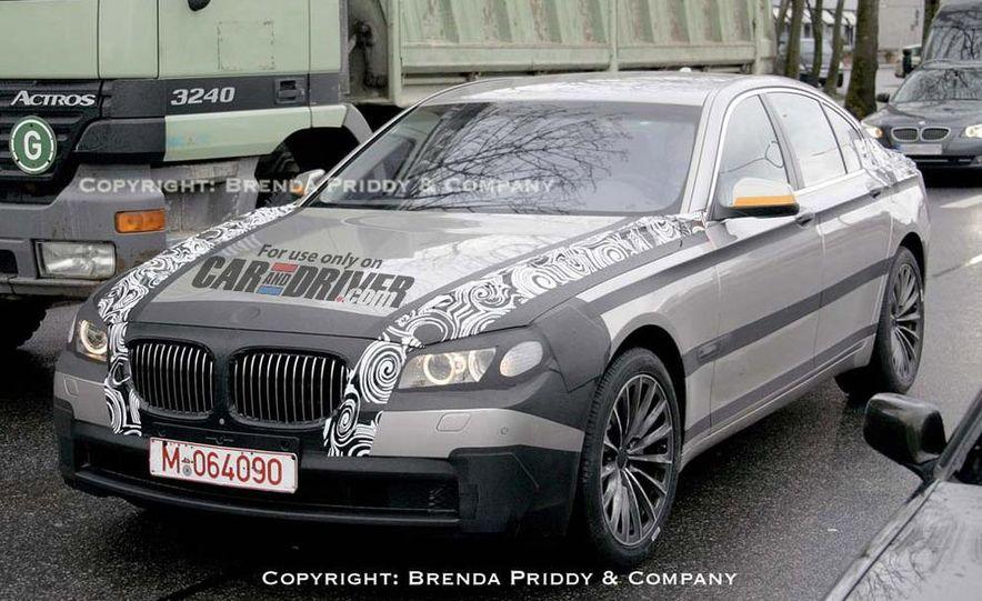 2009 BMW 7-series illustration - Slide 12