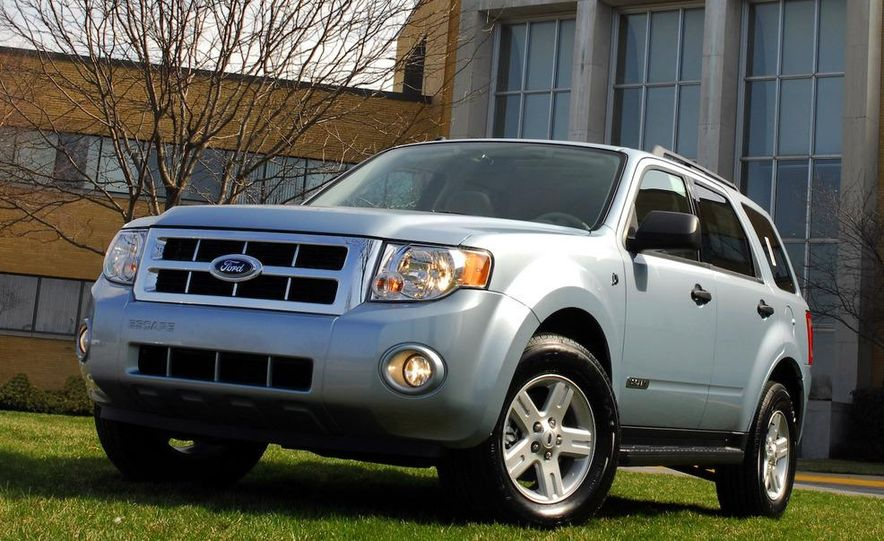 2008 Ford Escape hybrid - Slide 4