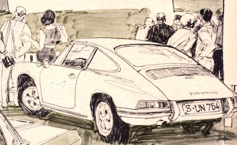 Porsche 912 and 911/S