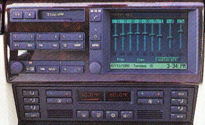 BMW 740iL: BMW Premium Sound