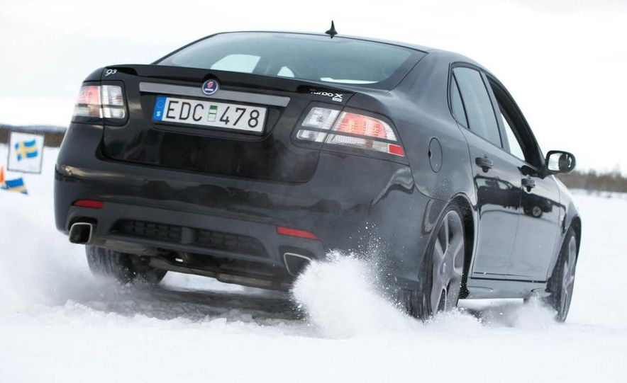 2008 Saab Turbo X SportCombi - Slide 9
