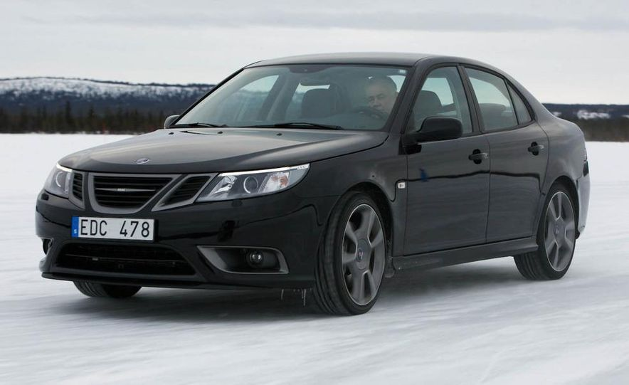 2008 Saab Turbo X SportCombi - Slide 13