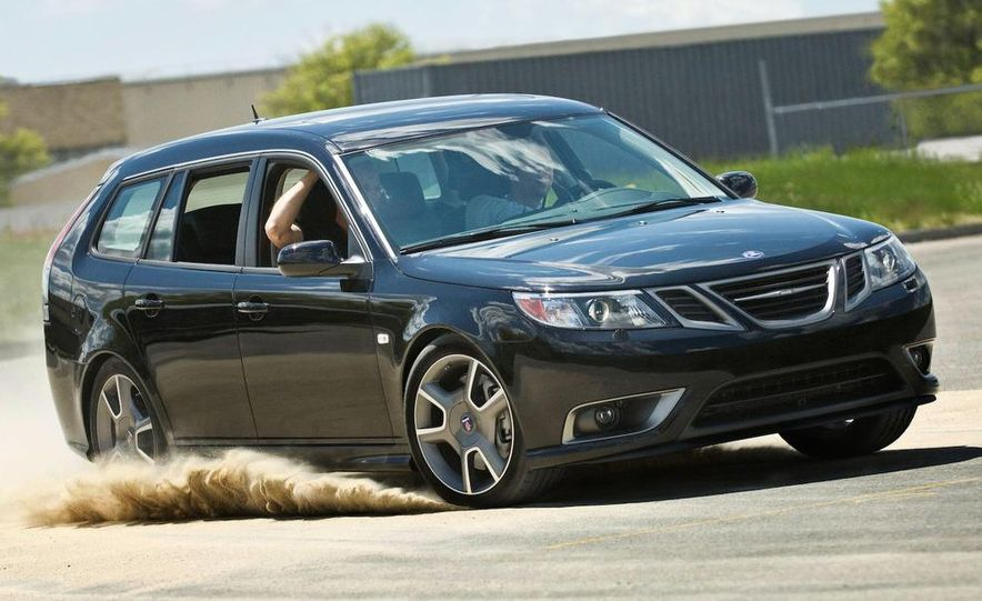 2008 Saab Turbo X SportCombi - Slide 4