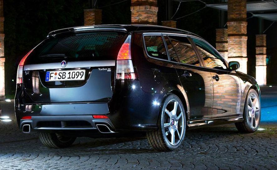 2008 Saab Turbo X SportCombi - Slide 6