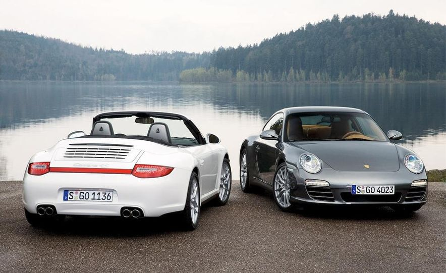 2009 Porsche 911 Carrera 4S Cabriolet and Carrera 4 coupe - Slide 1