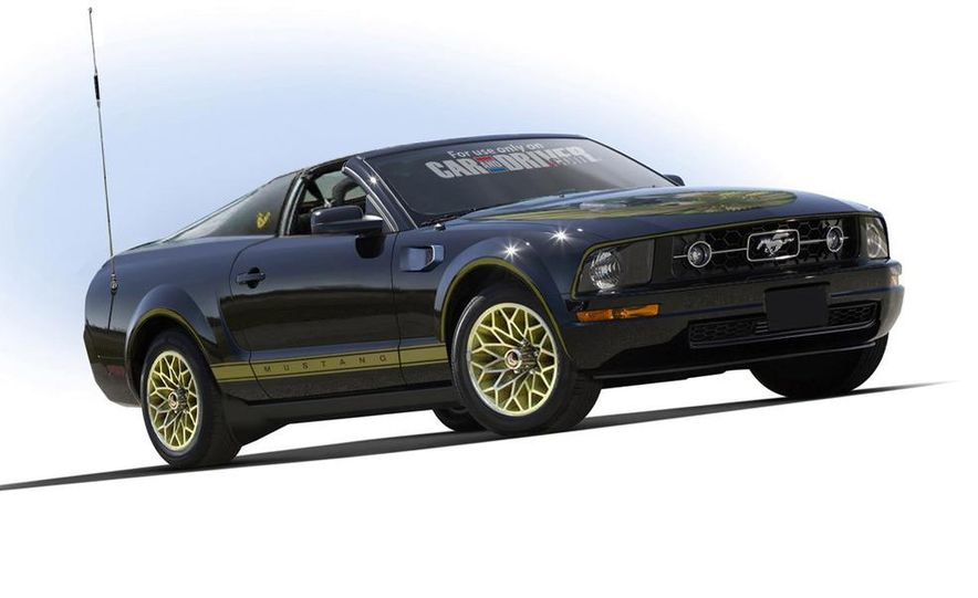 2008 Ford Mustang convertible - Slide 3