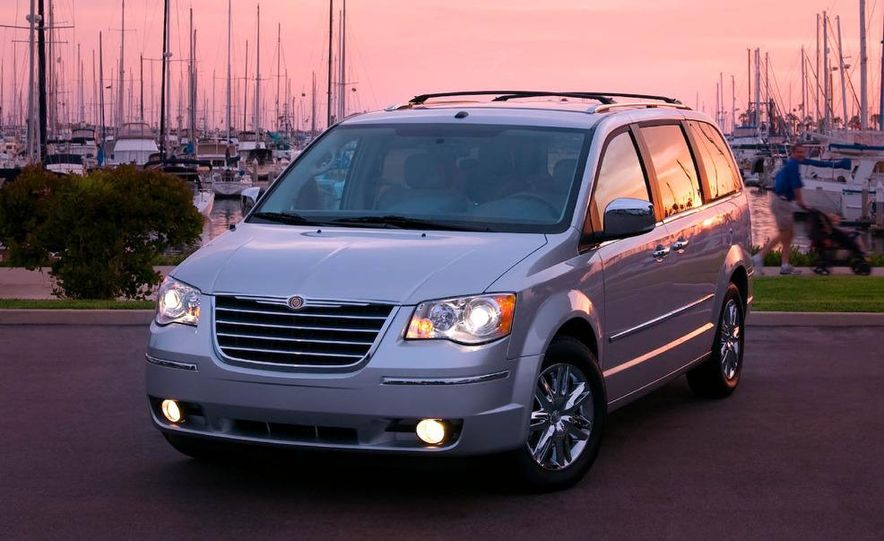 2008 Chrysler Town & Country and Dodge Grand Caravan - Slide 4