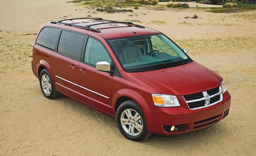 2008 Chrysler Town & Country and Dodge Grand Caravan - Slide 13