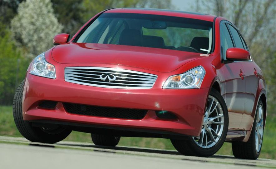 2007 Infiniti G35 Sport 6MT 3.5-liter V-6 engine - Slide 6