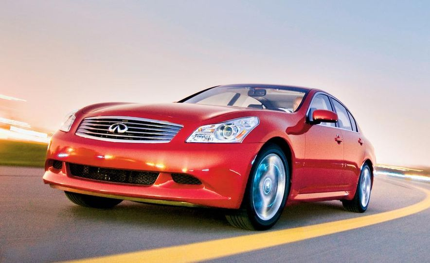 2007 Infiniti G35 Sport 6MT 3.5-liter V-6 engine - Slide 13