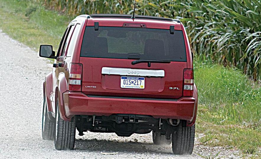 2008 Jeep Wrangler interior - Slide 21