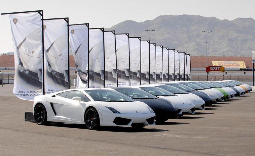 2009 Lamborghini Gallardo LP560-4 - Slide 20