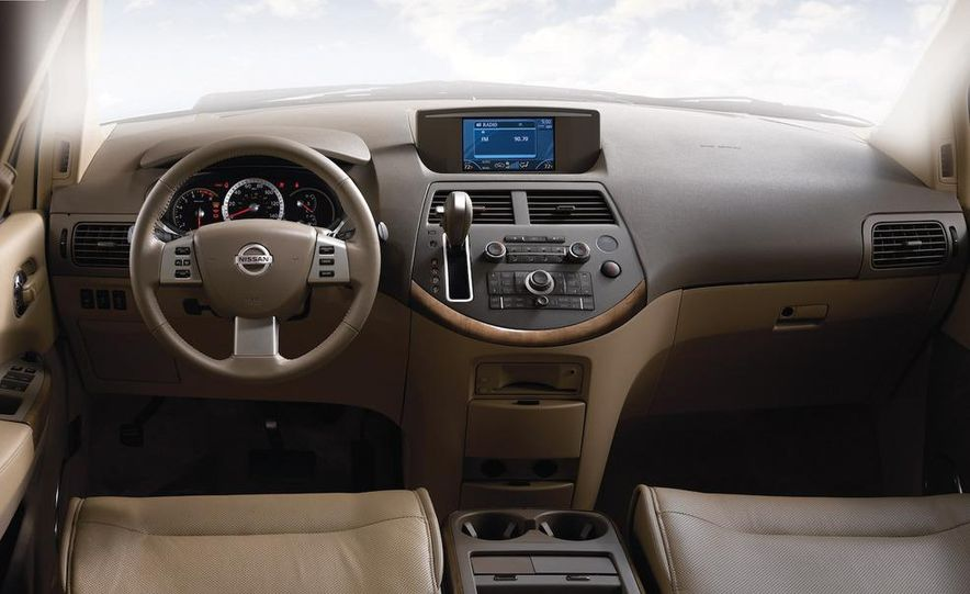 2009 Nissan Murano interior - Slide 46