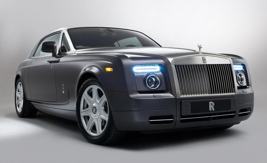 2008 Rolls-Royce Phantom Drophead Coupe interior - Slide 10