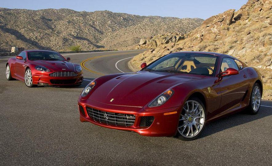 2008 Aston Martin DBS and 2009 Ferrari 599GTB Fiorano - Slide 7