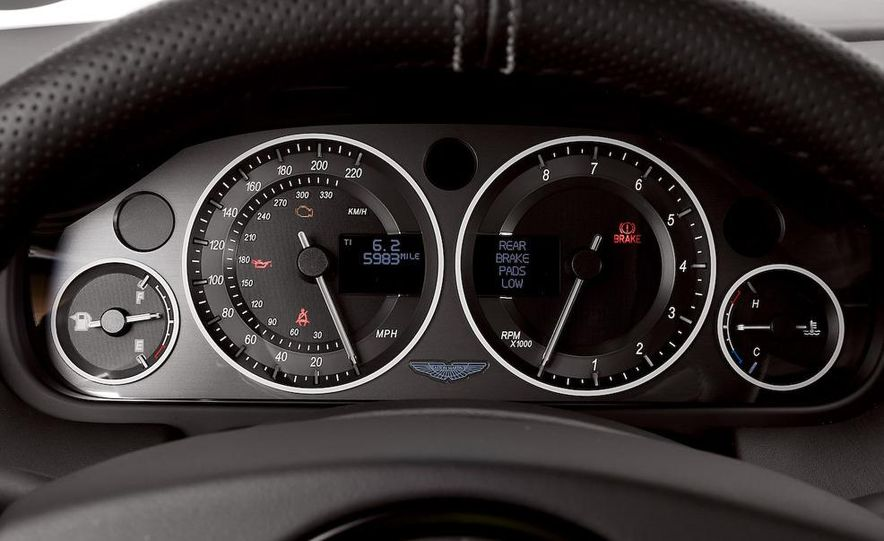 2008 Aston Martin DBS and 2009 Ferrari 599GTB Fiorano - Slide 14