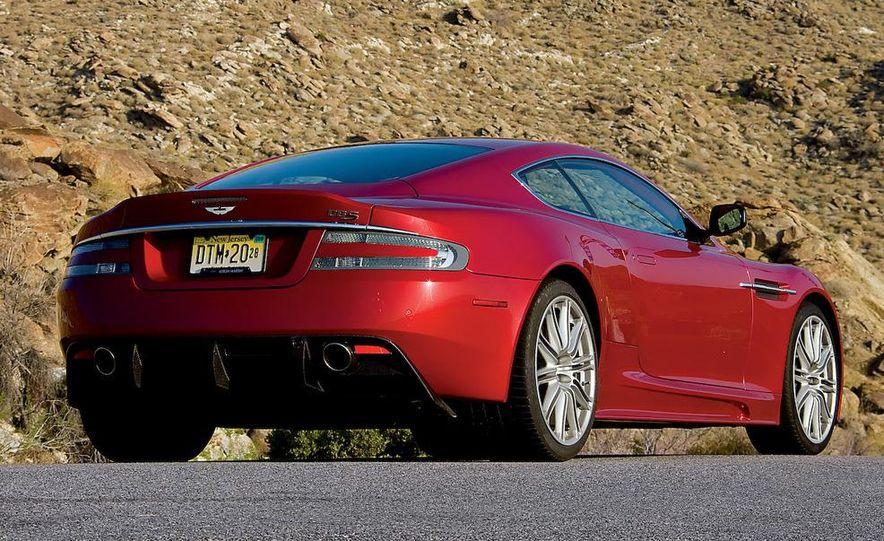 2008 Aston Martin DBS and 2009 Ferrari 599GTB Fiorano - Slide 16