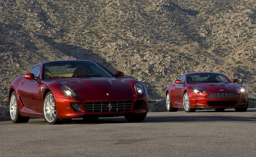 2008 Aston Martin DBS and 2009 Ferrari 599GTB Fiorano - Slide 8
