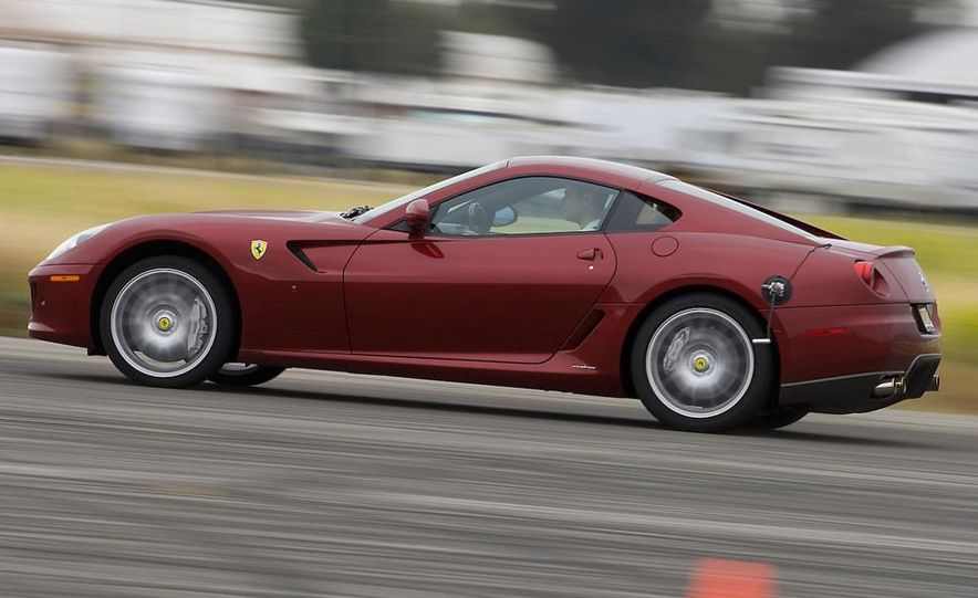 2008 Aston Martin DBS and 2009 Ferrari 599GTB Fiorano - Slide 31