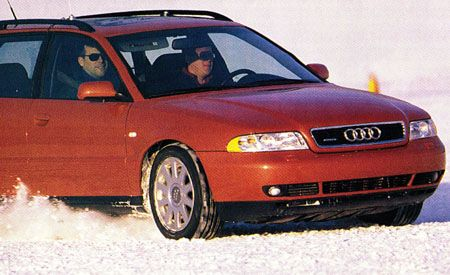 Audi A4 1.8T Avant Quattro
