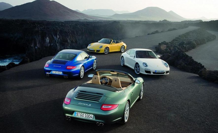 2009 Porsche 911 Carrera and Carrera S coupes and Cabriolets - Slide 1