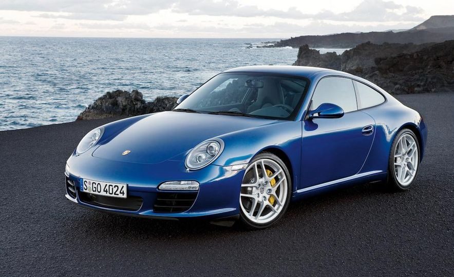 2009 Porsche 911 Carrera and Carrera S coupes and Cabriolets - Slide 6