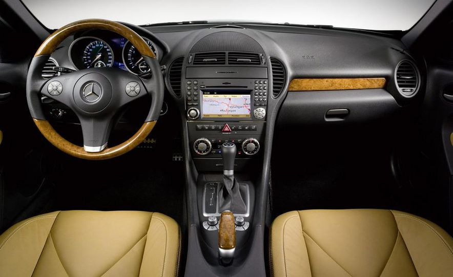 2009 Mercedes-Benz SLK350 - Slide 30