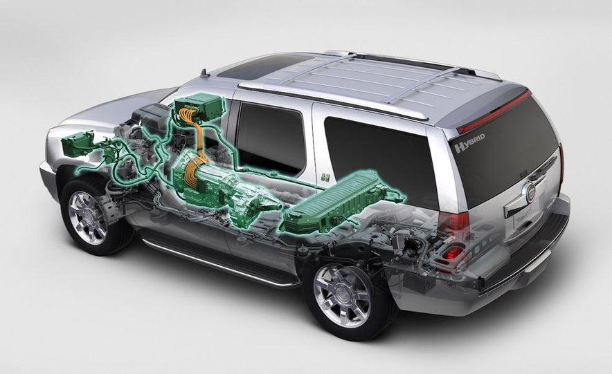2009 Cadillac Escalade hybrid - Slide 10