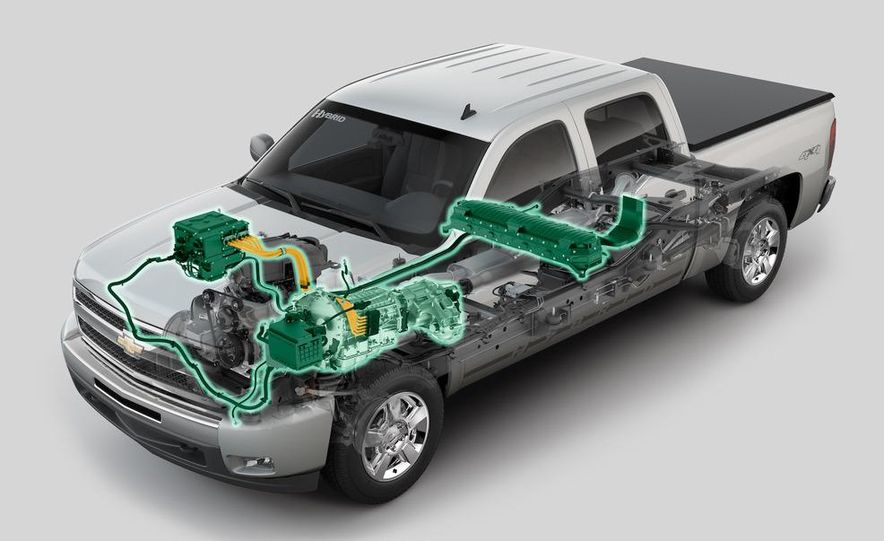 2009 Chevrolet Silverado hybrid - Slide 6
