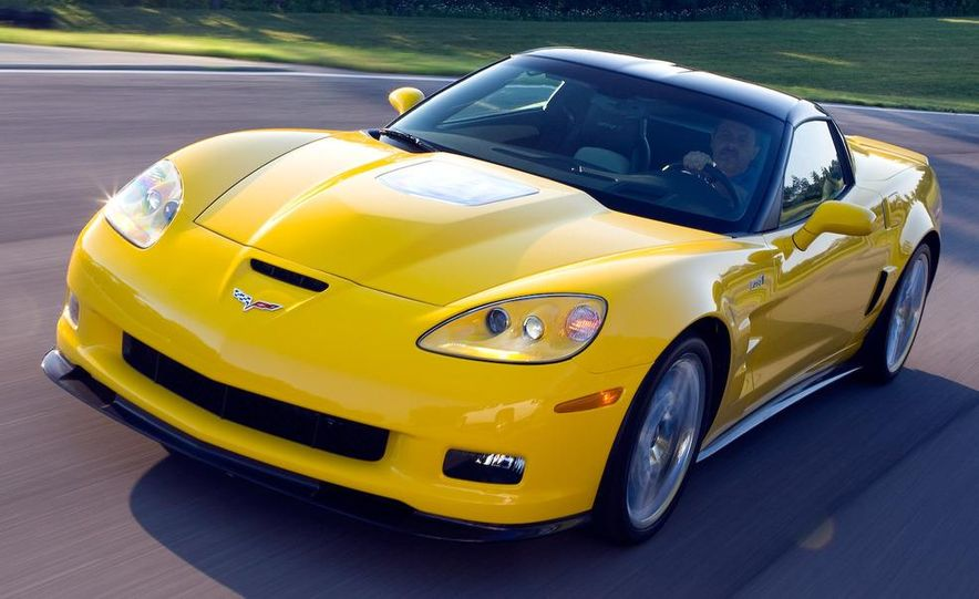 2009 Chevrolet Corvette ZR1 - Slide 1