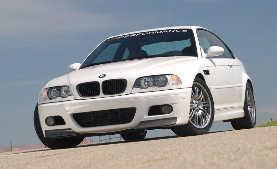 2008 and 2003 BMW M3s - Slide 2