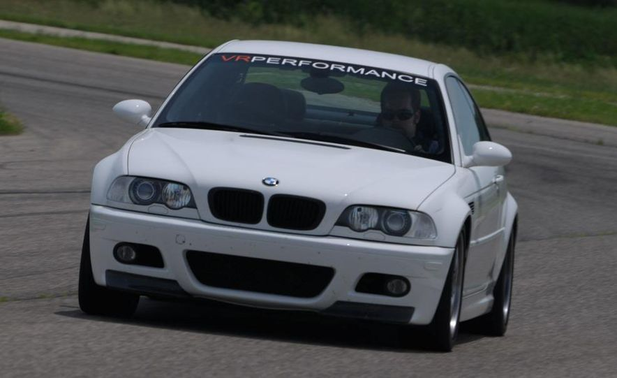 2008 and 2003 BMW M3s - Slide 56