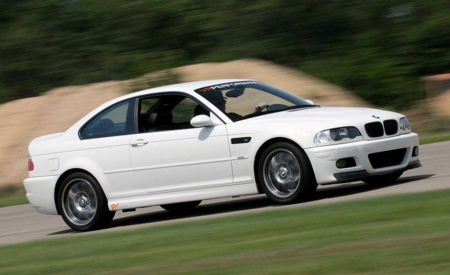 2008 and 2003 BMW M3s - Slide 68