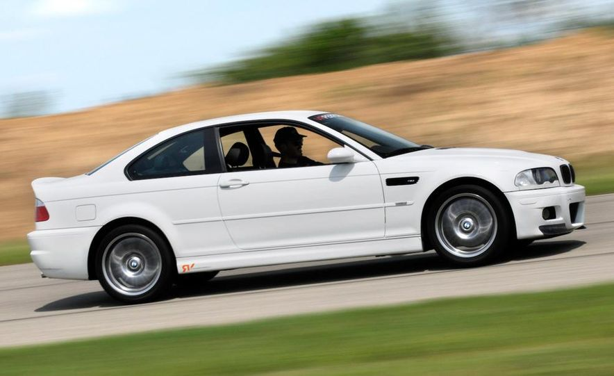 2008 and 2003 BMW M3s - Slide 72