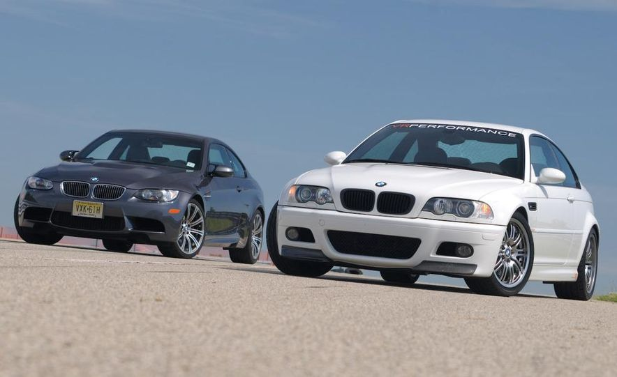2008 and 2003 BMW M3s - Slide 1
